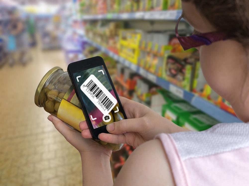 Savoir si un aliment est dangereux: Utiliser une application de scan