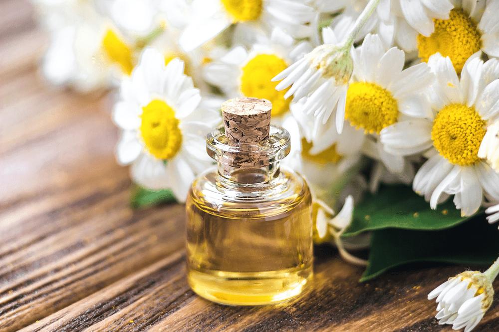 huile essentielle contre le stress camomille