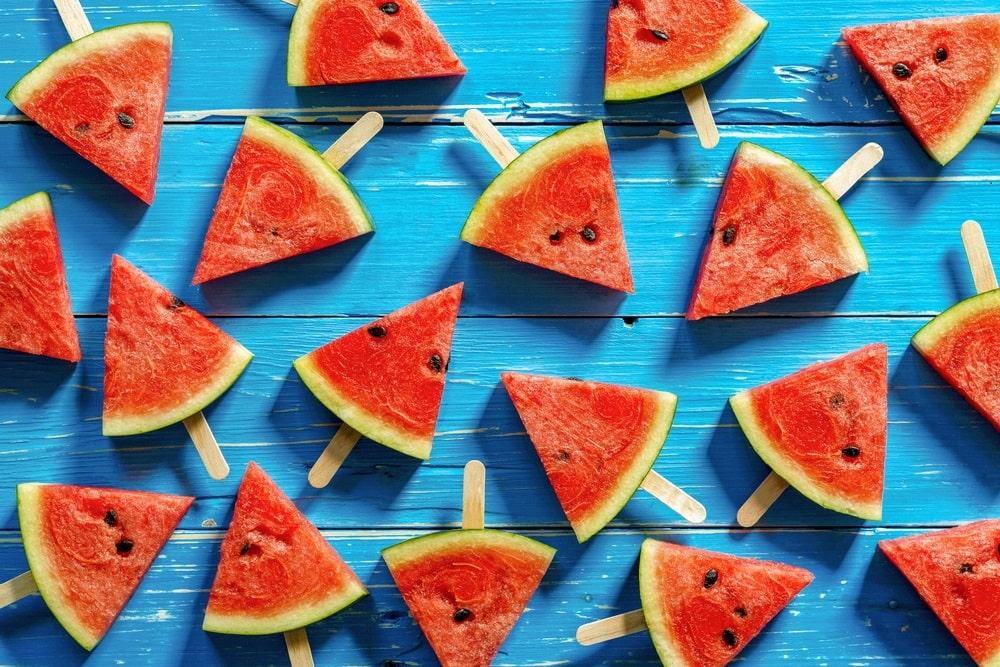 aliment peu calorique: pasteque